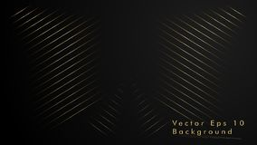 Abstract vector background. Geometric Lines - Inspiration Design . Gold Color. Abstract vector background. Geometric Lines - Creative and Inspiration Design royalty free illustration
