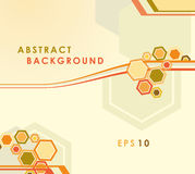 Abstract vector background with geometrical shapes Stock Photos