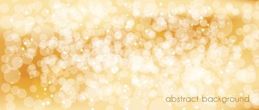 Abstract vector background in gold tones. Backdrop for decorating the site`s Header, banner, holiday cards, congratulations. Abstract vector background in gold Royalty Free Stock Photo