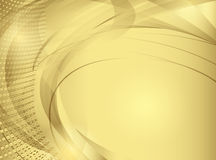 Abstract vector background in golden tones Stock Photos