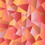 Abstract multicolored shapes. Abstract vector background from gradient triangles. Large, multi-colored forms Stock Illustration