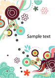 Abstract vector background in green Stock Photography