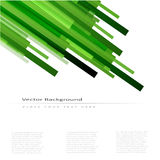 Abstract vector background with green lines. Abstract vector background with green straight lines Vector Illustration
