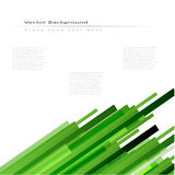 Abstract vector background with green lines. Abstract vector background with green straight lines stock illustration