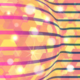 Abstract vector background with lights Stock Image
