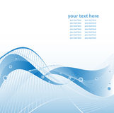 Abstract vector background with lines Stock Photo