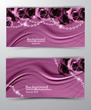 Abstract vector background luxury cloth vector background. Abstract vector background luxury cloth or liquid wave or wavy folds of grunge silk texture satin stock illustration