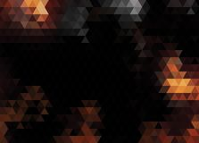 Abstract vector background made of triangles. Stock Images