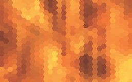 Abstract vector background made of triangles. Fire flash Royalty Free Stock Photo