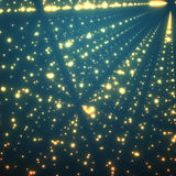 Abstract vector background. Matrix of glowing Royalty Free Stock Images