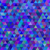 Abstract vector background. Abstract modern geometric blue background vector illustration Royalty Free Stock Photos