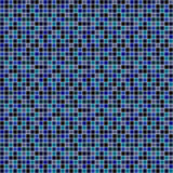 Abstract vector background with mosaic in blue colors. Royalty Free Stock Photos