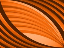 Abstract vector background. Orange line neon, effect  wallpaper, decoration vibrant, strip  flow Royalty Free Stock Image