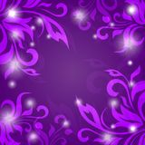 Abstract vector background of petals Stock Photography