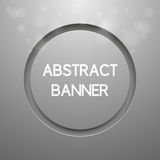 Abstract vector background with round banner. Modern design Stock Photos