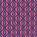 Abstract vector background - seamless vector pattern in violet and lilac color. Abstract retro pattern. Abstract vintage pattern. Geometric vector pattern vector illustration