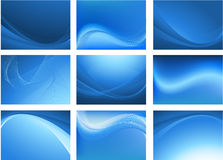 Abstract vector background set Stock Photos