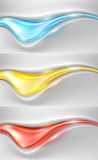 Abstract vector background set Royalty Free Stock Image