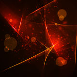 Abstract vector background, shiny space Royalty Free Stock Photos