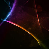 Abstract vector background, shiny space Stock Photo