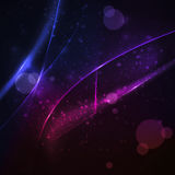 Abstract vector background, shiny space Stock Photos
