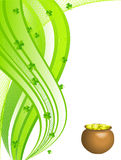 Abstract Vector Background St. Patrick S Day Stock Image