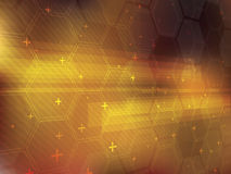 Abstract vector background with technology shapes Royalty Free Stock Photo