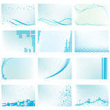 Abstract vector background templates Royalty Free Illustration