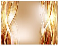 Abstract vector background. Thick strands of hair for shampoo and cosmetics advertising vector illustration