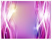Abstract vector background. Thick strands of hair for shampoo and cosmetics advertising stock illustration