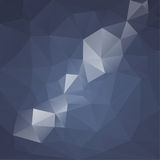 Abstract vector background with triangles and Stock Photography