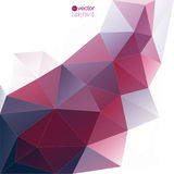 Abstract vector background with triangles and Stock Images