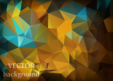 Abstract vector background of triangles polygon wallpaper. Web d Royalty Free Stock Photo
