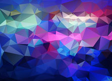 Abstract vector background of triangles polygon wallpaper. Web d Stock Photography