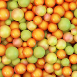 Abstract vector background with various balls Royalty Free Stock Image