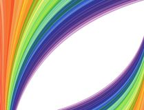 Abstract vector background with waves Royalty Free Stock Images
