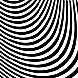 Abstract Black and White Abstract Lines Royalty Free Stock Images