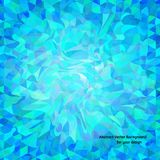 Abstract vector background with wavy random shapes Royalty Free Stock Photo