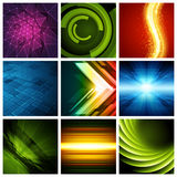 Abstract vector backgrounds collection modern. Design can be use for Business Brochures, Flyers, Website Banners, Corporate Report, Presentation, Advertising Stock Photos