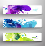Abstract vector backgrounds Stock Photography