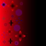 Abstract vector backgrounds. Red Stock Image