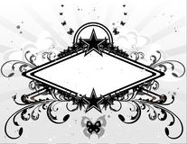 Abstract vector banner. Composition illustration Stock Photo