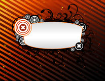 Abstract vector banner. Composition illustration Royalty Free Illustration