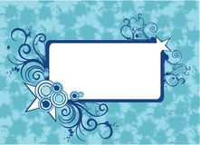Abstract vector banner. Composition illustration Royalty Free Stock Photo