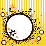 Abstract vector banner. Composition illustration Royalty Free Stock Image