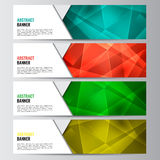 Abstract vector banner business background Royalty Free Stock Photo