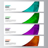 Abstract vector banner business background Royalty Free Stock Image