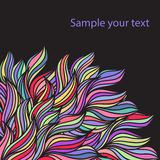 Abstract vector banner Stock Image