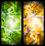 Abstract vector banners Royalty Free Stock Images