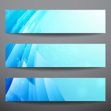 Abstract vector banners. Business banner. Banner background. Web banner. Music banner. Business card. Party banner. Bright background. Blue background Royalty Free Stock Image